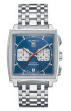 wristwatch Monaco Automatic Chronograph (SS / Blue / SS)