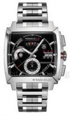 wristwatch MONACO LS Chronograph Calibre 12 Steel Bracelet