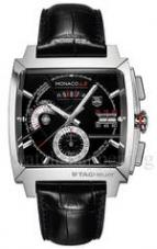 wristwatch MONACO LS Chronograph Calibre 12 alligator strap