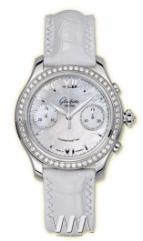 wristwatch Glashutte Original Lady Serenade Chronograph (SS_Diamonds MOP Leather)