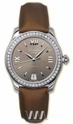 wristwatch Glashutte Original Lady Serenade (SS_Diamonds Mocha Satin)