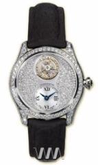 wristwatch Glashutte Original Lady Serenade Tourbillon (WG Diamonds Leather)
