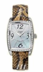 wristwatch Glashutte Original Lady Serenade Karree (SS_Diamonds MOP Leather)