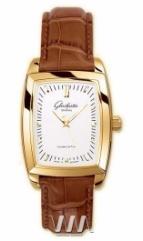 wristwatch Glashutte Original Lady Serenade Karree (RG Silver Leather)