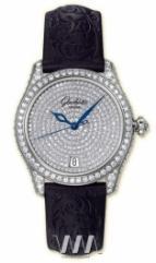 wristwatch Glashutte Original Lady Serenade Pavee (WG_Diamonds Satin)