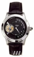 wristwatch Glashutte Original Tourbillon Regulator (Pt / Black / Leather)