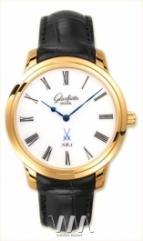 wristwatch Glashutte Original Senator Meissen (RG / White / Leather)