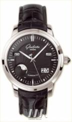 wristwatch Glashutte Original Senator Perpetual Calendar (Pt / Black / Leather)