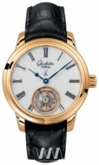 wristwatch Glashutte Original Senator Meissen Tourbillon Rose Gold