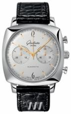 wristwatch Glashutte Original Senator Sixties Square Chronograph White Dial