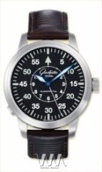 wristwatch Glashutte Original Senator Navigator Automatic (SS / Black / Leather)
