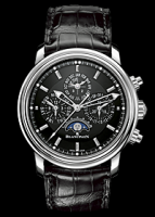 wristwatch Leman Perpetual calendar