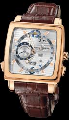 wristwatch Quadrato Dual Time Perpetual