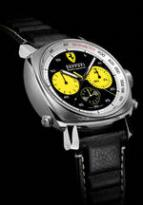 wristwatch Ferrari Rattrapante Yellow Counters