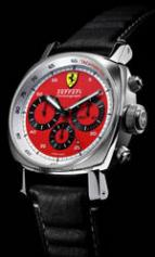 wristwatch Ferrari Chronograph Red Dial