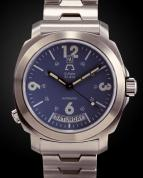 wristwatch D-Date Deep Blue