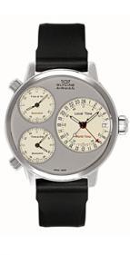 wristwatch Airman 7 silver circle