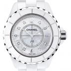wristwatch Céramique blanche, cadran nacre blanche
