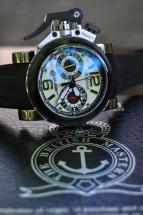 wristwatch Graham Chronofighter Oversize G-BGP-001 White