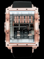 wristwatch Quenttin Tourbillon Collection Rose Gold
